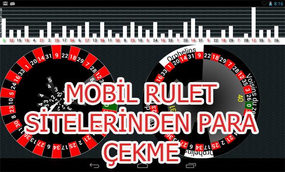 Mobil rulet sitelerinden para çekme, Yabancı mobil rulet sitelerinden para çekme işlemi, yabancı mobil rulet sitelerinden nasıl para çekilir