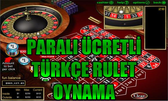paralı canlı rulet, paralı rulet, Ücretli Türkçe rulet oynamak, paralı Türkçe rulet oynama