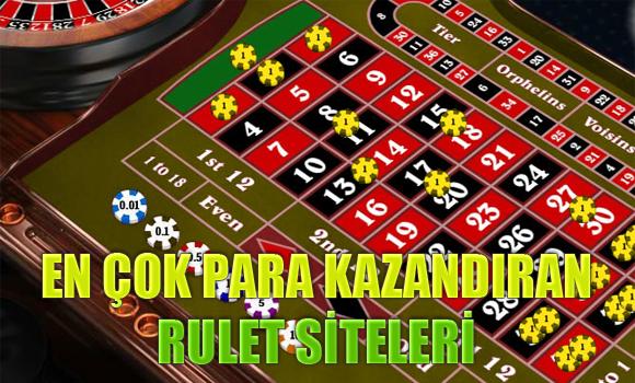 2015 yılında en çok para kazandıran rulet siteleri, En fazla para kazandıran yabancı rulet siteleri, Para kazandıran rulet sitesi