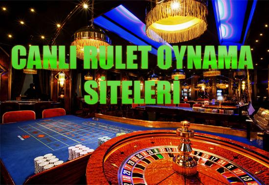 canlı rulet oynama siteleri, Canlı rulet nasıl oynanır, Yabancı canlı rulet siteleri